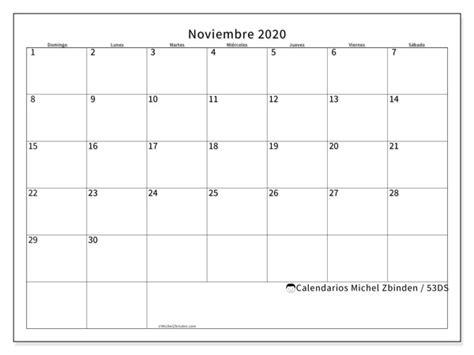 calendarios noviembre ds michel zbinden es