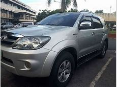 Second Hand Toyota Fortuner V 2005 For Sale Used Cars