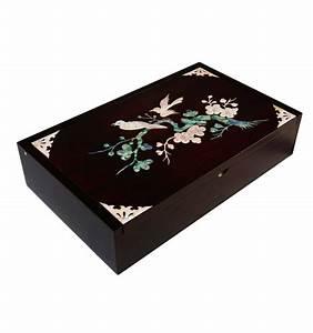 Boite De Rangement Bureau : boite de rangement en bois pour le bureau muti usage ~ Melissatoandfro.com Idées de Décoration