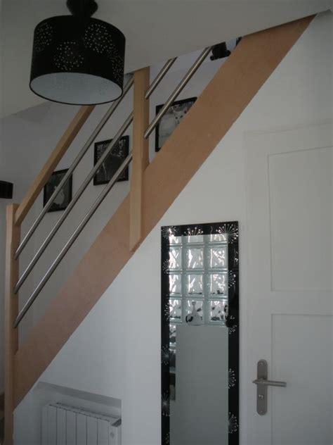 peinture couloir avec escalier deco escalier couloir