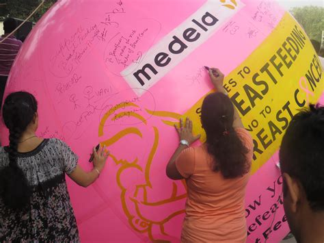 Medela Feedtodefeat Campaign For Breast Cancer Awareness
