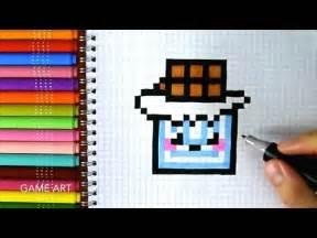 Chocolate Bar Pixel Art