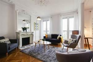 un appartement haussmannien au gout scandinave With marvelous decoration exterieur pour jardin 14 deco salon home staging