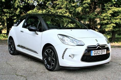 2012 Citroen Ds3 1.6 Petrol Dstyle + White With A Black