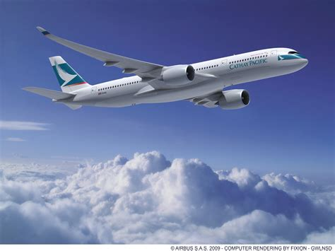 Cathay Pacific A350 to Operate Manila Flights ~ Philippine Flight Network