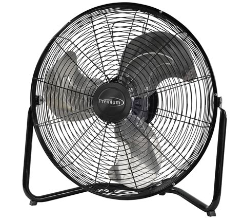 high velocity low speed fans premium appliances 20 3 speed high velocity floor fan