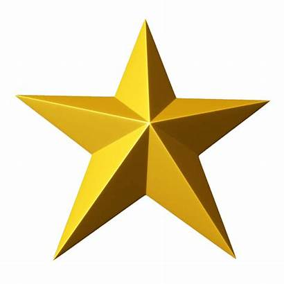 Star 3d Gold Clipart