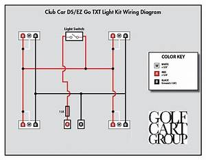 Yamaha Electric Golf Cart Lighting Wiring Diagram