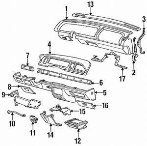 Oldsmobile 98 Fuse Box Cover  1991