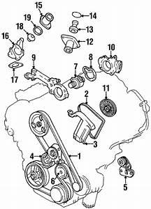 Oem 1996 Cadillac Deville Water Pump Parts