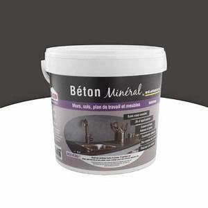 beton mineral mural gris ardoise 6kg castorama With wc suspendu couleur gris 5 salle de bains beton cire idees deco pour sinspirer