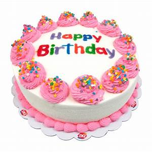 Dairy Queen Birthday Cake DQ® - Cakes Menu - Dairy Queen