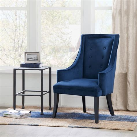 17 best ideas about navy accent chair on