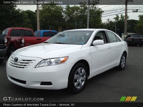 2009 Toyota Camry Le by White 2009 Toyota Camry Le Bisque Interior