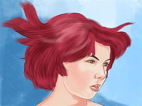 dye hair bright red  steps  pictures wikihow