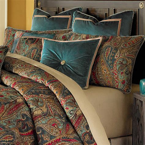 michael amini seville luxury comforter set king  queen