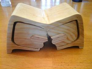 """Broken"" Bandsaw Box - 4"