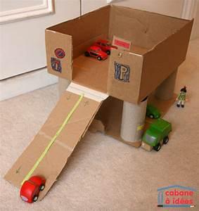 Fabriquer Un Personnage En Carton : notre garage en carton cabane id es ~ Zukunftsfamilie.com Idées de Décoration