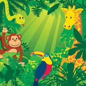 cartoon jungle pictures - Google Search | birthday ideas ...