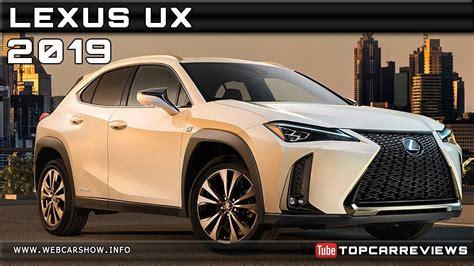 lexus ux review rendered price specs release date