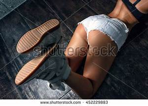 butt naked on the bathroom floor showing off stock images With lying naked on the bathroom floor