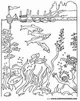 Coloring Diver Sea Deep Pages Scuba Printable Maze Sheet Drawing Activity Diving Fish Template Getdrawings Print Getcolorings Sketch Dive Suit sketch template