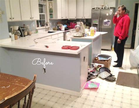 removing a kitchen island spontaneous kitchen demo new floors balancing 4706