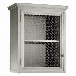Tabouret Haut Maison Du Monde : zinc meuble de cuisine haut maisons du monde decofinder ~ Teatrodelosmanantiales.com Idées de Décoration