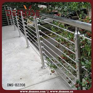 Stainless Steel Horizontal Bar Railing For Staircasedeck