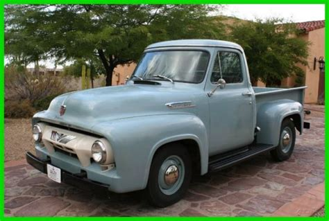 1954 ford f100 up truck for sale technical
