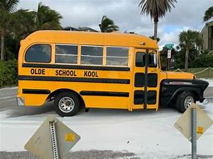 Real  Not Chopped  1957 Chevy Shorty School Bus Survivor
