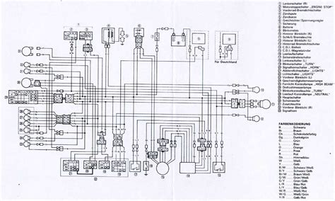 xt 600 e wiring diagram wiring diagram