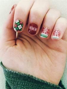 Deco Ongle Noel : d co ongle de no l et soin mains en hiver en 100 photos ~ Melissatoandfro.com Idées de Décoration