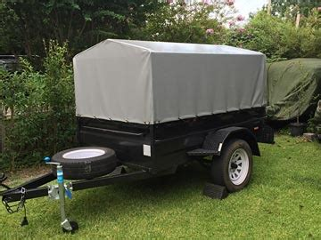 trailer canopies coverswallaby track canvas