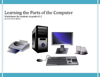 learning  parts   computer coloring  matching