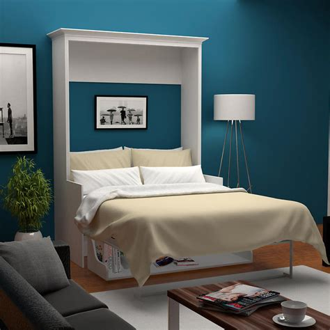 empty nesting  multi function rooms   murphy bed
