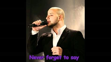 Never Forget To Say