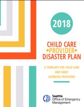 prepare  child care center emergency management
