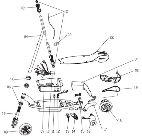 Razor Electric Scooter Parts