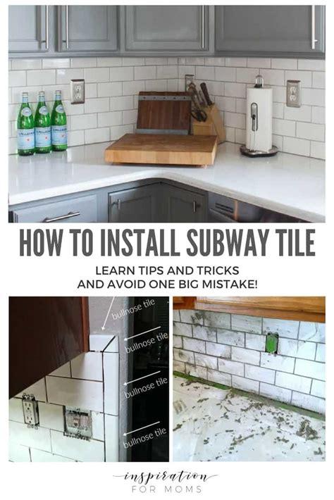 how to install subway tile backsplash kitchen tips on how to install subway tile kitchen backsplash 9457