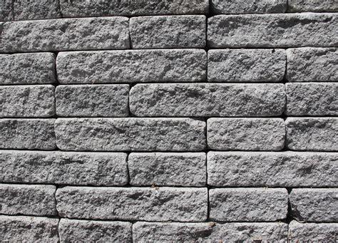 Brick Texture Grey Rough Stone Slab Surface Wallpaper
