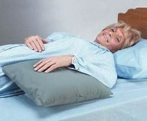 skil care pillow prop positioning and support device With bed wedge with armrests