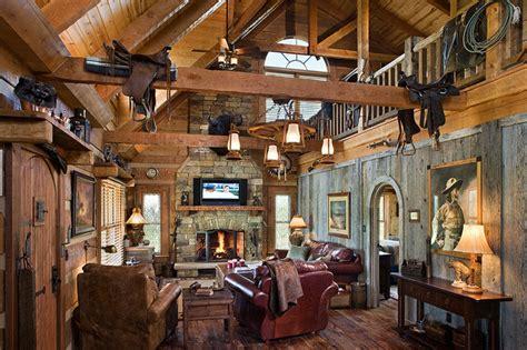 log home  barn wood  western decor traditional