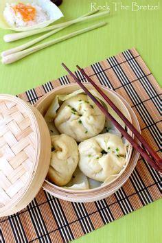 cuisine vapeur asiatique bouchées crevettes vapeur bouchées bouchon wonton