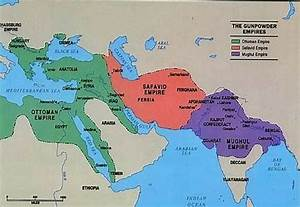 This map shows the Ottoman Empire, Safavid Empire, and ...