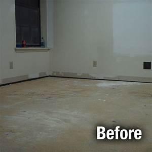 Concrete floor repair and leveling services garage floor for How to fix uneven floors