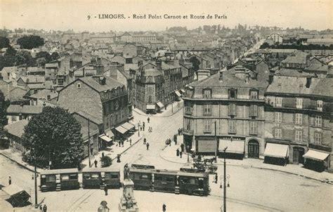 Limoges, Rond Point Carnot Et Route De Paris (actuelle