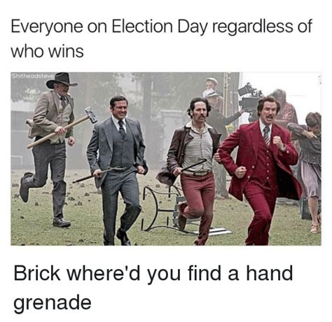 Election Day Memes - funny brick memes of 2016 on sizzle bad