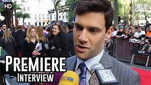 Justin Bartha Interview - The Hangover 3 Premiere - YouTube
