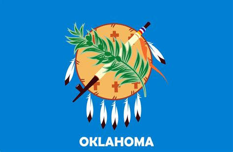 oklahoma state colors oklahoma flag by siouxsioux on deviantart